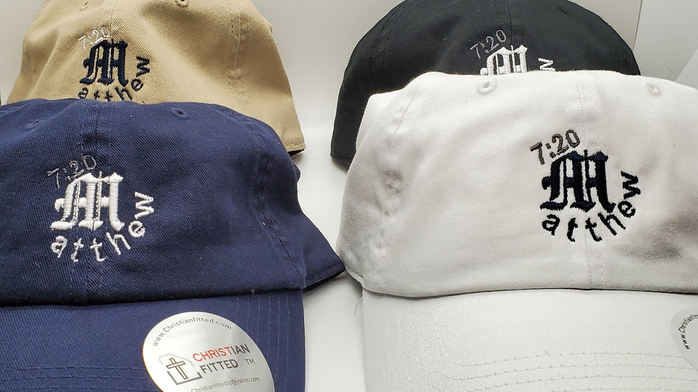 Custom Unstructured Dad Hats