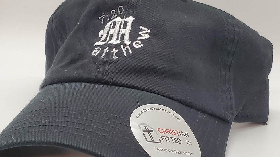 Matthew 7:20 Black Dad Hat by Christian Fitted