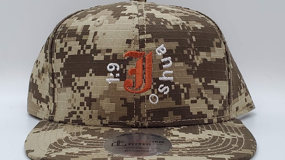 Joshua 1:9 Snapback by Christian Fitted