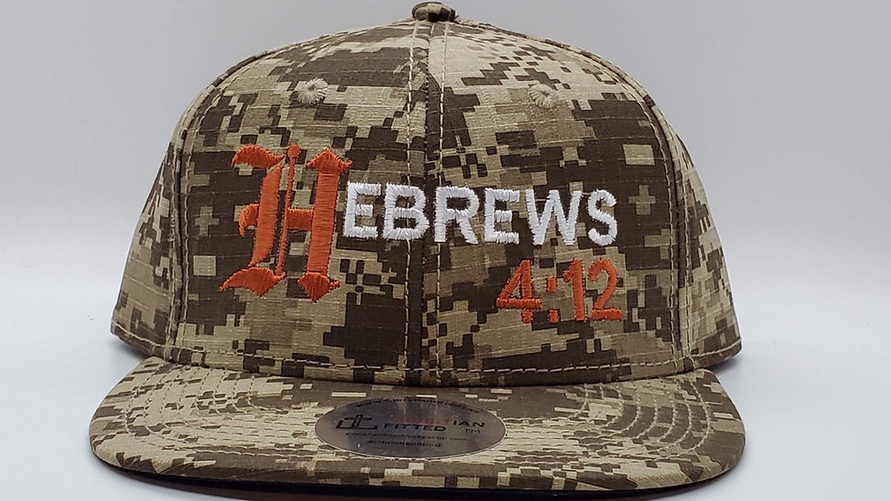 Hebrews 4:12 Snapback by Christian Fitted
