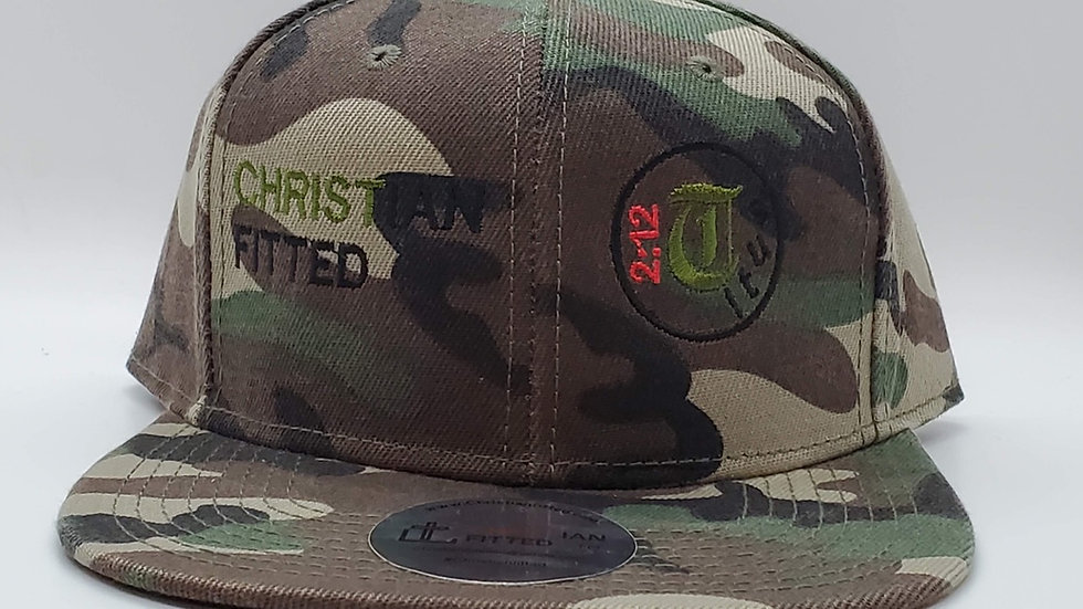 Titus 2:12 Snapback by Christian Fitted