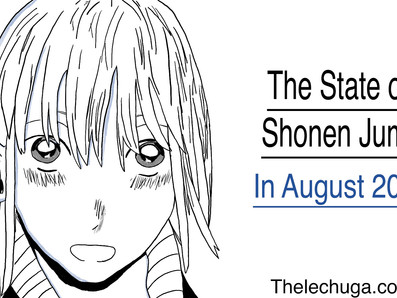 The State of Shonen Jump in August 2021