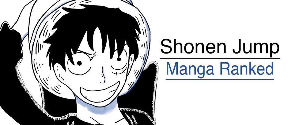 Shonen Jump Manga Ranked