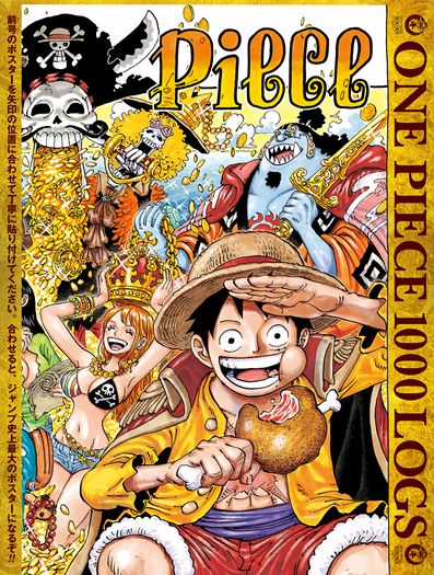 Thoughts on: One Piece chapter 1000
