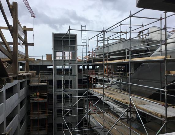 Courtyard Progress