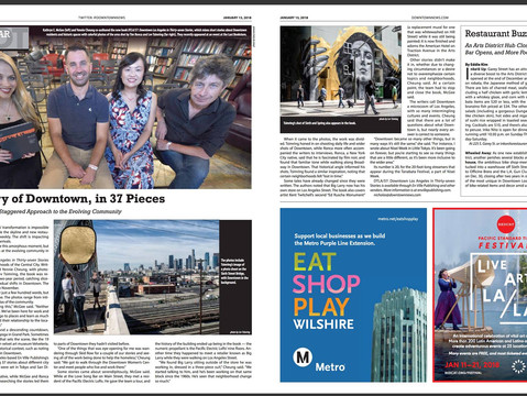 DTLA/37 cover story in Los Angeles Downtown News