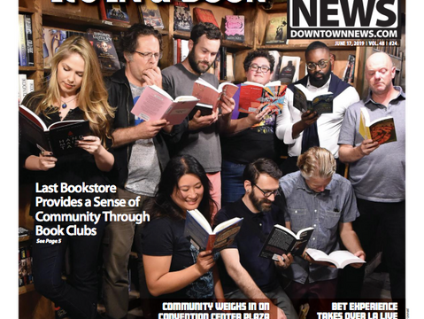 Book Clubs at The Last Bookstore featured in LA Downtown News!