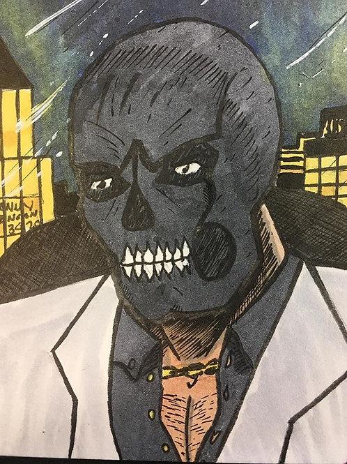Black Mask Trading Card