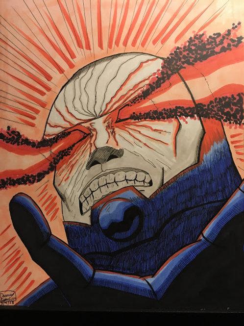 DARKSEID Head Portrait