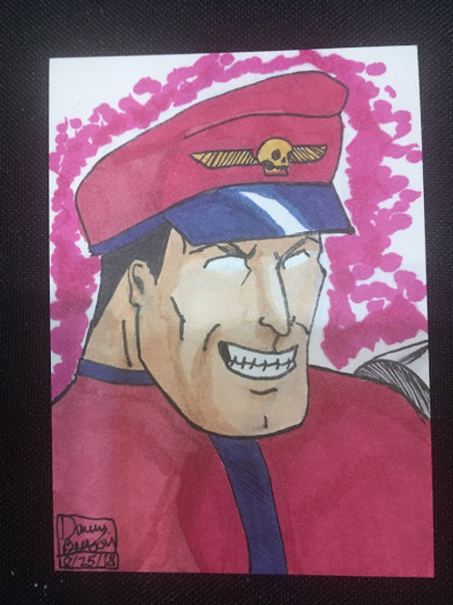 M-BISON Trading Card