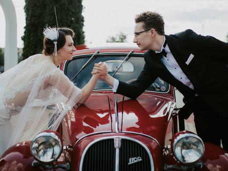 Kasia & Krzysiek, czyli ślub a'la Wielki Gatsby