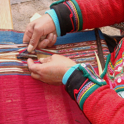 Weaving loom and fiber arts