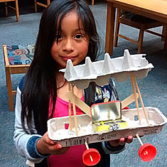 SF Bay Area hands-on humanities, culture, science, craft field trips-making experiences-recycled materials