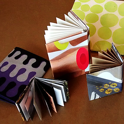 Books, Journals, Zines upcycle reuse