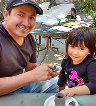 SF Bay Area hands-on humanities, culture, science, craft field trips-clay-making and creating