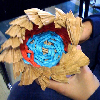 Basket Weaving Twining