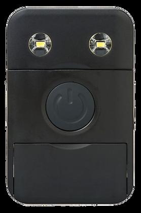 Carregador e lanterna solar preto