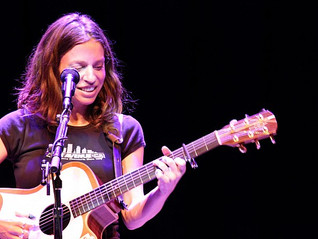 Ani DiFranco at  Pollak Theatre at Monmouth University. 11/8/13