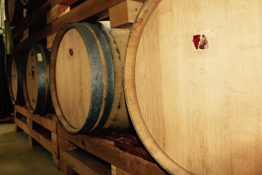 Our first wine aging