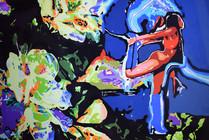 Дороти изображала бабочку в космической тунике