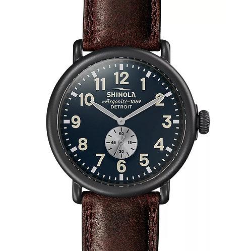 The Runwell 47mm Midnight Blue