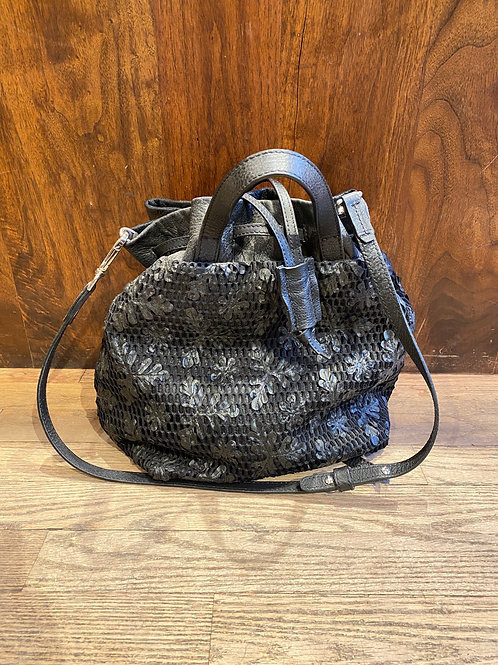 Lace Leather Black