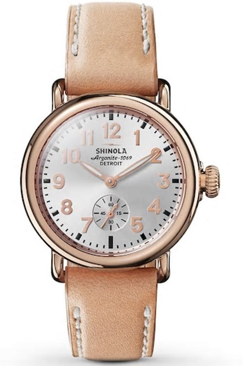 The Runwell 36mm Silver