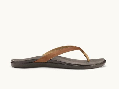 Hoopio Leather Sahara-Dark Java