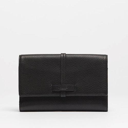 Benjamin Wallet Black-Gunmetal