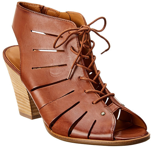 Cosmo Lace-Up Cognac