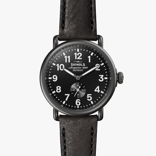 The Runwell 41mm Black