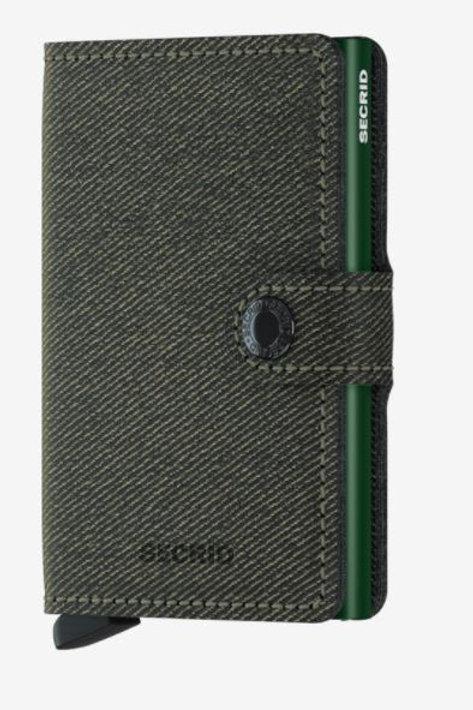 Miniwallet Twist Green