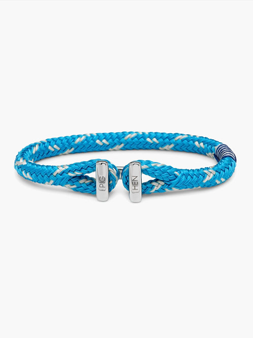 Icy Ike Light Blue-Ivory-Silver