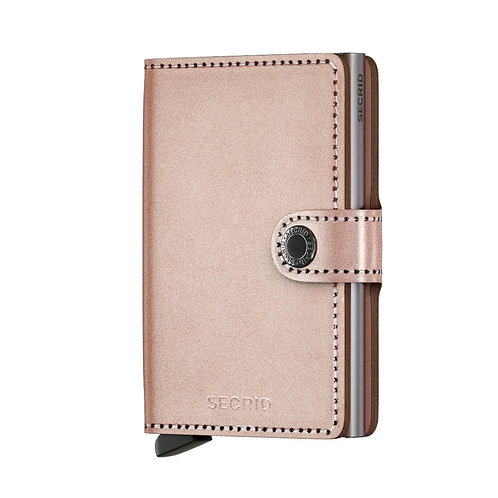 Miniwallet Metallic Rose