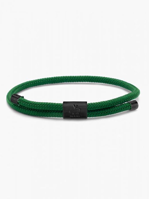 Little Lewis Jungle Green-Black