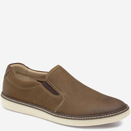 Mcguffey Slip-On Tan Perforated