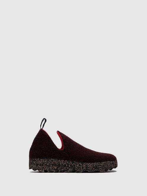 Slip-On Shoes City Merlot