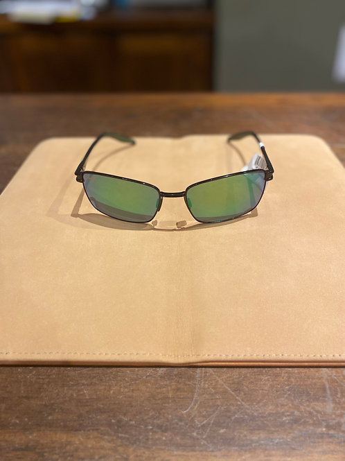 Cove Park Black With Black Temples And Olive Green Rubber