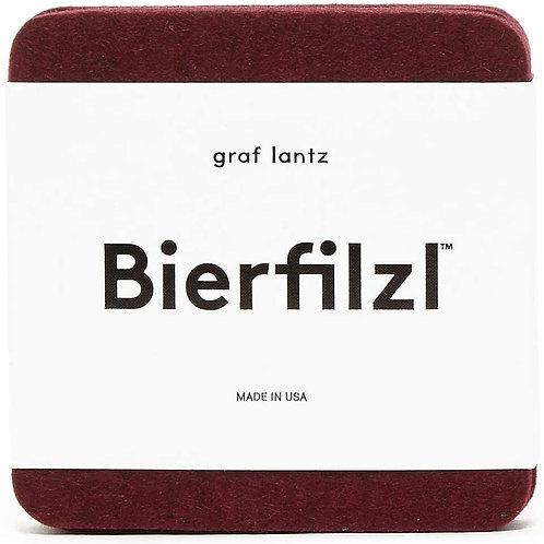 Bierfilzl Burgundy