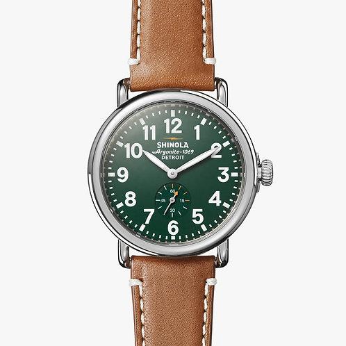 The Runwell 41mm Green