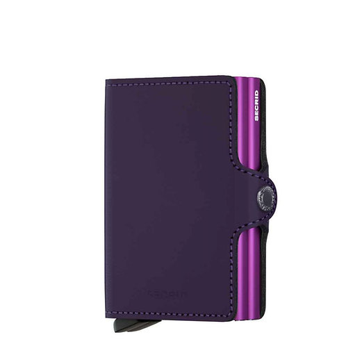 Twinwallet Matte Purple-Violet
