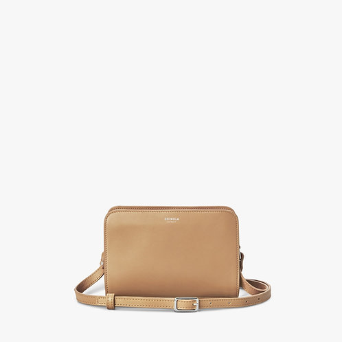 Woodward Mini Crossbody Wheat