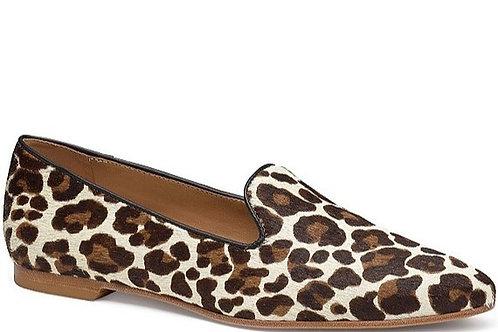 Farrah White Leopard Haircalf