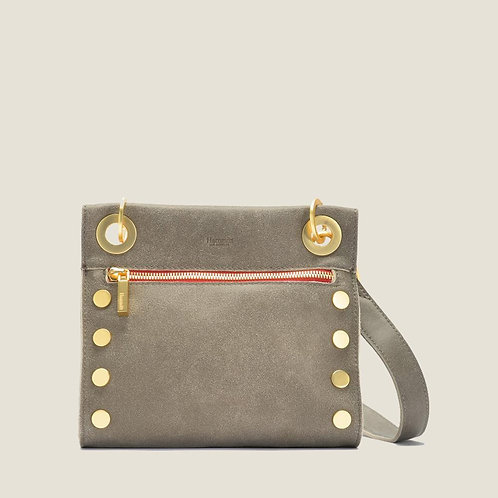 Tony Small Pewter Brushed-Gold/Red-Zip