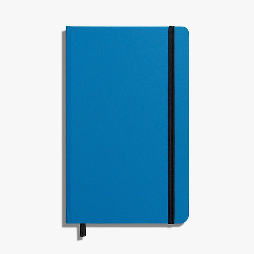 Medium Hard Ruled Journal Cobalt Blue