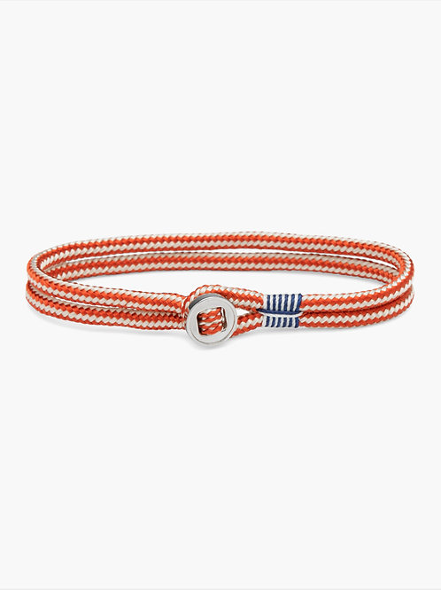Don Dino Ivory-Coral Red-Silver
