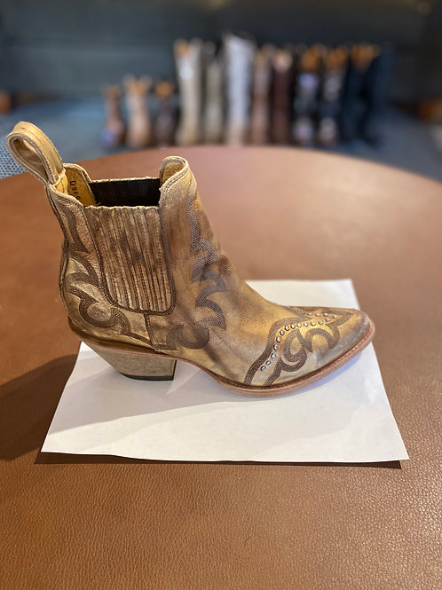 Shay Ankle Boot Gold