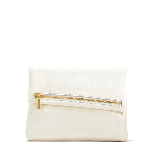 VIP Medium Marshmallow White-Brushed Gold