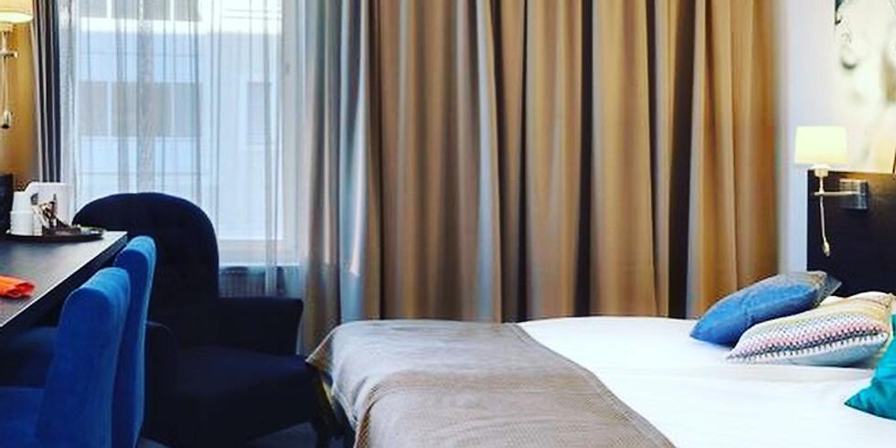 Hotellbokning, julfest Burlins Motor