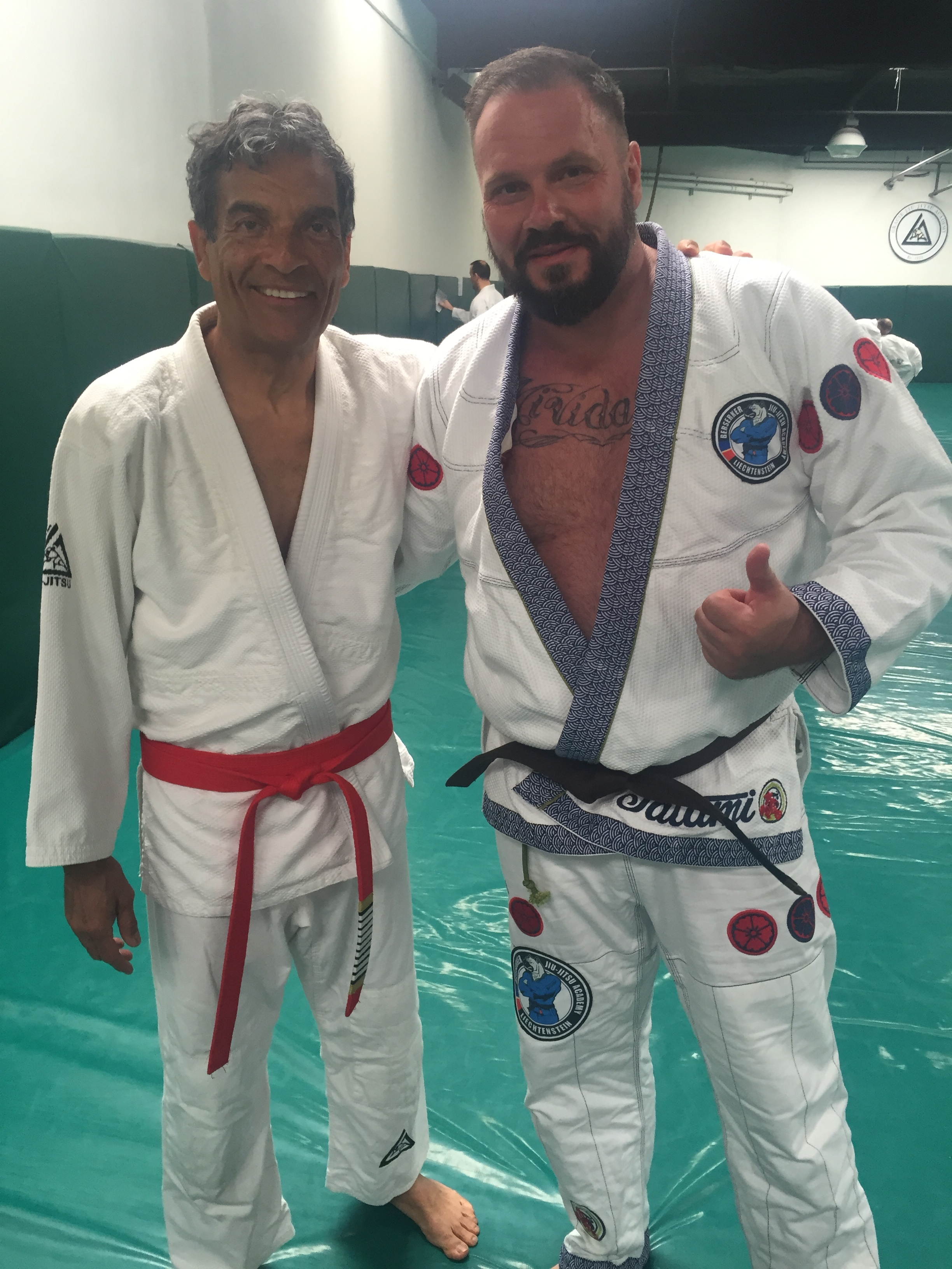 Rorion Gracie & Mike Kieber